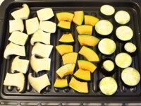 野菜をグリルする