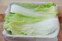 白菜をサッとゆでる
