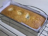 予熱した170度のオーブンで35分ほど焼く