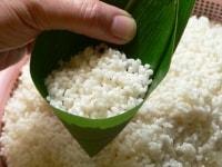 米を7~8分目入れる