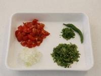 「トマトサルサディップ」を作る