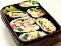 華やかな寿司弁当