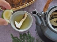 いただきます! 松茸の土瓶蒸しの食べ方は?