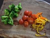 野菜を用意する