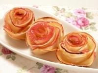 餃子の皮のアップルパイ完成