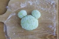 カエルの形を作る