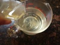 粉ゼラチンをシロップ液に加える