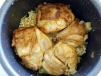 炊飯器で炊く
