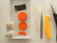 食材、道具の準備