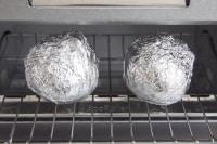 トースターで40分程度焼く。