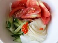 野菜をマリネする