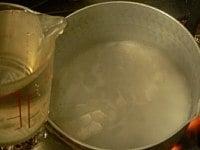 みりんを煮切る