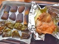 野菜と鶏肉を焼く2