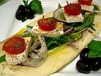 サラダピザ
