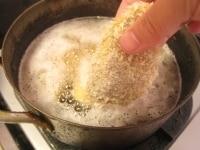 サラダ油を熱し、揚げる