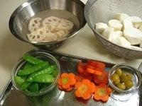 その他の野菜を準備する