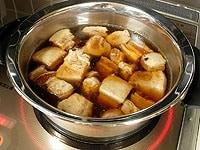 弱火で30分ほど煮含める。